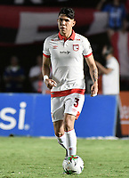 CALI - COLOMBIA, 28-11-2019: Nicolas Hernandez del Santa Fe en acción durante partido por la fecha 6, cuadrangulares semifinales, de la Liga Águila II 2019 entre América de Cali e Independiente Santa Fe jugado en el estadio Pascual Guerrero de la ciudad de Cali. / Nicolas Hernandez of Santa Fe in action during match for the date 6, quadrangular semifinals, as part of Aguila League II 2019 between America de Cali and Independiente Santa Fe played at Pascual Guerrero stadium in Cali. Photo: VizzorImage / Gabriel Aponte / Staff
