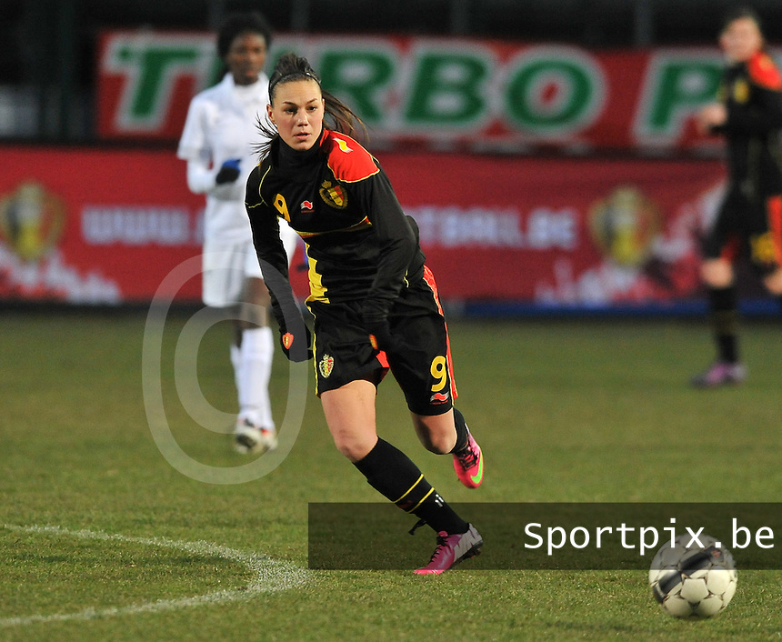 France U19 - Belgium U19 : Jassina Blom.foto DAVID CATRY / Nikonpro.be