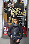 """One Life To Live's Renee Elise Goldsberry stars with Tate Donovan, Estelle Parsons, Frances McDormand in """"Good People"""" on February 13, 2011 at Manhattan Theatre Club at the Samuel J. Friedman Theatre, New York City, New York. (Photo by Sue Coflin/Max Photos)"""