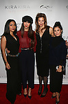 "Orange Is The New Black Actresses Jessica Pimentel, Jackie Cruz, Alysia Reiner Diane Guerrero Attend KiraKira & Alysia Reiner of ""ORANGE IS THE NEW BLACK"" Support WPA With Caravan at the Carlton Hotel, NY"