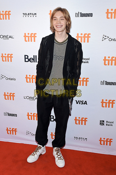 11 September 2017 - Toronto, Ontario Canada - Charlie Plummer. 2017 Toronto International Film Festival - &quot;Lean On Pete&quot; Premiere held at The Elgin. <br /> CAP/ADM/BPC<br /> &copy;BPC/ADM/Capital Pictures