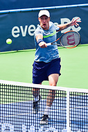 Washington, DC - August 6, 2017: Henri Kontinen (FIN) in action against Lukasz Kubot (POL) and Marcelo Melo (BRA) during the Citi Open Doubles Finals at Rock Creek Tennis Center, in Washington D.C. (Photo by Philip Peters/Media Images International)