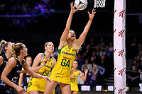 Diamonds&rsquo; Gretel Tippett in action during the International Netball Constellation Cup - NZ Silver Fans v Australia Diamonds at TSB Bank Arena, Wellington, New Zealand on Thursday 18 October  2018. <br /> Photo by Masanori Udagawa. <br /> www.photowellington.photoshelter.com