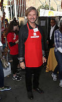 Los Angeles, CA - NOVEMBER 23: Stephen Nichols, At Los Angeles Mission Thanksgiving Meal For The Homeless At Los Angeles Mission, California on November 23, 2016. Credit: Faye Sadou/MediaPunch