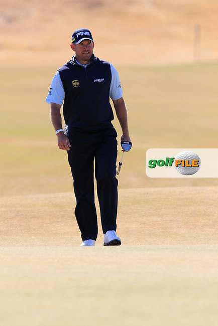 LEE WESTWOOD (ENG) on the 5th green during Friday's Round 2 of the 2015 U.S. Open 115th National Championship held at Chambers Bay, Seattle, Washington, USA. 6/19/2015.<br /> Picture: Golffile | Eoin Clarke<br /> <br /> <br /> <br /> <br /> All photo usage must carry mandatory copyright credit (&copy; Golffile | Eoin Clarke)