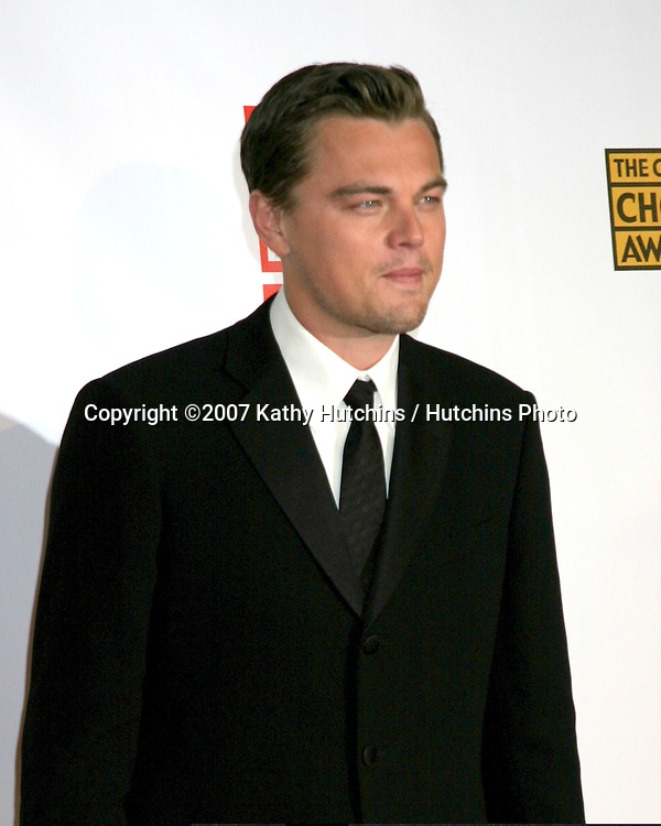 Leonardo DiCaprio.12th Annual Critics' Choice Awards - Arrivals.Santa Monica Civic Center.Santa Monica, California United States.January 12, 2007.©2007 Kathy Hutchins / Hutchins Photo.
