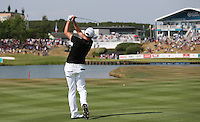 James Morrison (ENG) plays to the last during Round Three of the 2015 Alstom Open de France, played at Le Golf National, Saint-Quentin-En-Yvelines, Paris, France. /04/07/2015/. Picture: Golffile | David Lloyd<br /> <br /> All photos usage must carry mandatory copyright credit (© Golffile | David Lloyd)