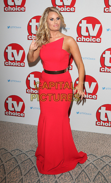 Danielle Armstrong at The TV Choice Awards at the Dorchester Hotel, Park Lane, London on September 5th 2016<br /> CAP/ROS<br /> &copy;Steve Ross/Capital Pictures