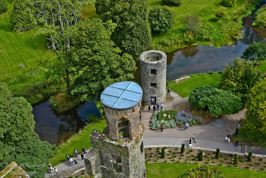 A view from on top of Blarney Castle