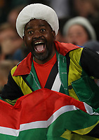 A General view of a fan during the 2018 Castle Lager Incoming Series 2nd Test match between South Africa and England at the Toyota Stadium.Bloemfontein,South Africa. 16,06,2018 Photo by Steve Haag / stevehaagsports.com