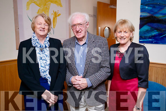 Eileen McGrath, Tadgh O'Hanlon and Kathleen O'Connor, enjoying the Causeway Senior Citizens Christmas party at Ballyroe Heights Hotel, Tralee on Sunday last.
