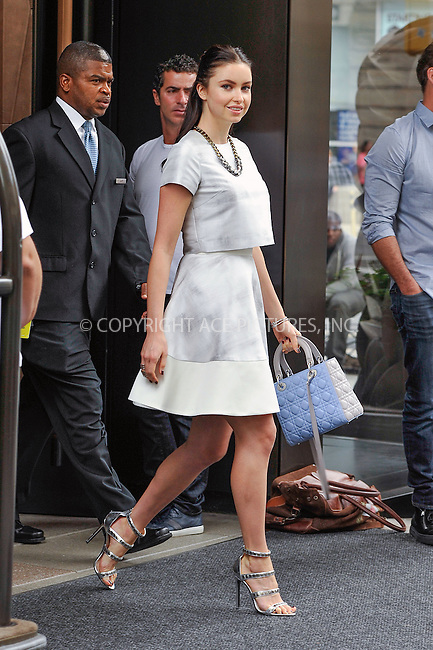 ACEPIXS.COM<br /> <br /> September 11 2014, New York City<br /> <br /> TV personality Emma Miller leaves a downtown hotel on September 11 2014 in New York City<br /> <br /> By Line: Curtis Means/ACE Pictures<br /> <br /> ACE Pictures, Inc.<br /> www.acepixs.com<br /> Email: info@acepixs.com<br /> Tel: 646 769 0430