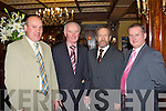 3888-3893.Danny Fleming Gneeveguilla, Mike Cronin Scartaglen, Sean Kelly Fossa and Aidan Moloney Clare at the Irish Angus National social in the Killarney Avenue Hotel on Saturday night