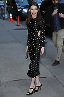 www.acepixs.com<br /> March 29, 2017 New York City<br /> <br /> Emma Roberts arriving to tape an appearance on 'The Late Show with Stephen Colbert' on March 29, 2017 in New York City.<br /> <br /> Credit: Kristin Callahan/ACE Pictures<br /> <br /> Tel: (646) 769 0430<br /> e-mail: info@acepixs.com