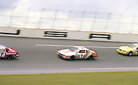 Kyle Petty 7 action Firecracker 400 at Daytona International Speedway in Daytona Beach, FL on July 4, 1983. (Photo by Brian Cleary/www.bcpix.com)