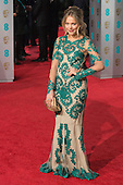 London, UK. 14 February 2016. Poppy Jamie. Red carpet arrivals for the 69th EE British Academy Film Awards, BAFTAs, at the Royal Opera House. © Vibrant Pictures/Alamy Live News