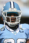 02 September 2006: UNC's Jermaine Strong. The University of North Carolina Tarheels lost 21-16 to the Rutgers Scarlett Knights at Kenan Stadium in Chapel Hill, North Carolina in an NCAA Division I College Football game.