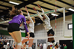 DENTON, TX - NOVEMBER 29:  - Wichita State Volleyball vs Central Arkansas at the Olympic Village in Denton on November 29, 2018 in Denton, Texas. Rick Yeatts Photography/ Manny Flores