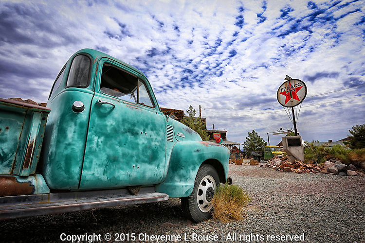 Texaco Star - Chevy Truck<br />