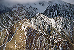 AK: Alaska Denali National Park, aerial view  .Photo Copyright: Lee Foster, lee@fostertravel.com, www.fostertravel.com, (510) 549-2202.Image: akdena201