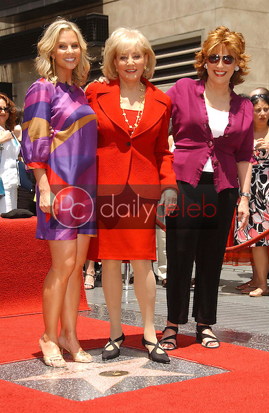 Elisabeth Hasselbeck with Barbara Walters and Joy Behar<br />