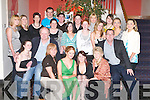 DOUBLE: Double celebrations at Ballyroe Heights Hotel, Tralee, on Saturday night as Sarah Locke and Aoife Kelly (Fenit) celebrated their 21st Birthdays with family and friends. Front l-r: Ann OBrien, Freddie and Frances Locke, Sarah Locke and Aoife Kelly (birthday ladies), Mary Kelly and Richard O'Brien (Fenit). Back were, Marie O'Brien, Amanda Guerin, Mary O'Brien, Michelle OBrien, Brona and Eili Kelly, Roger Costello, Rory Kelly, Sarah Hennessy, Jennifer and Marissa Locke, Ann and Marie Griffin and Katie McDermott..