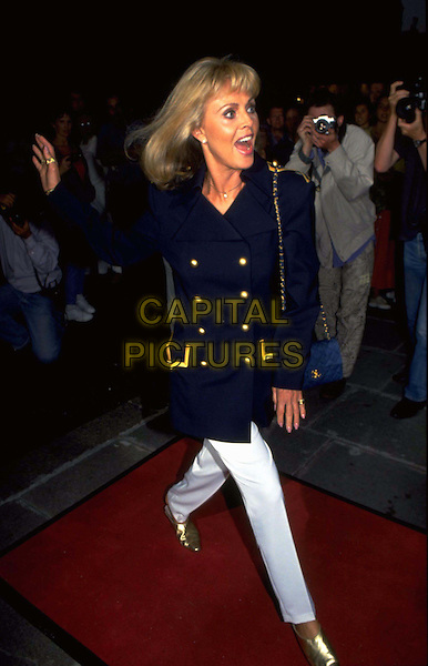 BRIT EKLAND.Ref: 007.blazer, full length, full-length.*RAW SCAN - photo will be adjusted for publication*.www.capitalpictures.com.sales@capitalpictures.com.© Capital Pictures