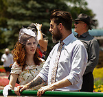 Toronto, Ontario. Scenes from the 159th Queen's Plate Festival at Woodbine Racetrack in Toronto, Ontario, Canada. (Photo by Kristin Leason/Eclipse Sportswire/Getty Images)