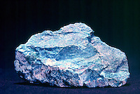 TURQUOISE - ALUMINUM PHOSPHATE<br /> CuAl6(PO4)4(OH)8*4H2O<br /> Turquoise matrix in aluminum phosphate rock. Turquoise is a hydrous phosphate of copper and aluminium.