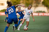 Seattle, WA - Sunday, September 24th, 2017: Shea Groom during a regular season National Women's Soccer League (NWSL) match between the Seattle Reign FC and FC Kansas City at Memorial Stadium.