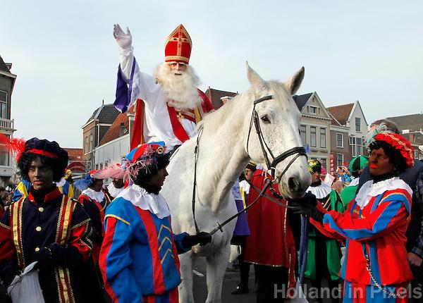 Intocht van Sinterklaas in Leiden