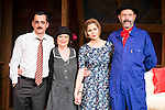 "Jorge Basanta, Julieta Serrano, Natalia Sanchez and Miguel Rellan during the theater play of ""Ninette y un señor de Murcia"" at the Fernan Gomez Theater in Madrid, January 13, 2016. <br /> (ALTERPHOTOS/BorjaB.Hojas)"