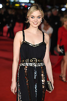 Bella Heathcote at the European premiere for &quot;Pride and Prejudice and Zombies&quot; at the Vue West End, Leicester Square.<br /> February 1, 2016  London, UK<br /> Picture: Steve Vas / Featureflash