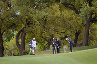 Kevin Kisner (USA) hits his approach shot on 18 during day 5 of the WGC Dell Match Play, at the Austin Country Club, Austin, Texas, USA. 3/31/2019.<br /> Picture: Golffile | Ken Murray<br /> <br /> <br /> All photo usage must carry mandatory copyright credit (&copy; Golffile | Ken Murray)