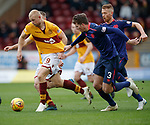 17.02.2019: Motherwell v Hearts: Curtis Main and Conor Shaughnessey