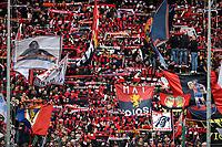 Genoa fans celebrate during the Serie A 2018/2019 football match between Genoa CFC and Juventus FC at stadio Luigi Ferraris, Genova, March 17, 2019 <br /> Photo Andrea Staccioli / Insidefoto