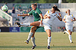 24 June 2009: Brittany Bock (11) of the Los Angeles Sol and Christie Welsh (right) of Saint Louis Athletica vie for a loose ball.  Saint Louis Athletica was defeated by the visiting Los Angeles Sol 1-2 in a regular season Women's Professional Soccer game at AB Soccer Park, in Fenton, MO.