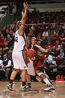 STANFORD, CA - JANUARY 30:  Nnemkadi Ogwumike of the Stanford Cardinal during Stanford's 83-62 win over Arizona on January 30, 2010 at Maples Pavilion in Stanford, California.