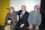 Madge Farland Navan, M.McEneaney Kingscourt and Francis Bull Ardee at the Ardee day care centres' christmass luncheon.