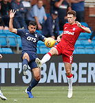 04.08.2019 Kilmarnock v Rangers: Mohammed El Makrini and Ryan Jack