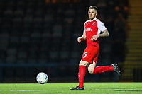 Ashley Eastham of Fleetwood Town during the Sky Bet League 1 match between Rochdale and Fleetwood Town at Spotland Stadium, Rochdale, England on 20 March 2018. Photo by Thomas Gadd.