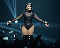 SUNRISE, FL - JULY 1: Demi Lovato in concert at The BB&T Center on July 1, 2016 in Sunrise, Florida. Credit: mpi04/MediaPunch