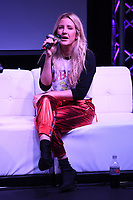 HOLLYWOOD, FL -  DECEMBER 05: Ellie Goulding performs during Hits Live at radio station Hits 97.3 on December 5, 2018 in Hollywood, Florida. <br /> CAP/MPI04<br /> &copy;MPI04/Capital Pictures
