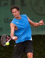 13-8-09, Den Bosch,Nationale Tennis Kampioenschappen, Kwartfinale,   Jasper Smit