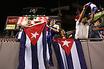11 March 2008: Unidentified Cuba fans in the stands. The United States U-23 Men's National Team tied the Cuba U-23 Men's National Team 1-1 at Raymond James Stadium in Tampa, FL in a Group A game during the 2008 CONCACAF's Men's Olympic Qualifying Tournament.