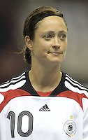 Germany midfielder (10) Renate Lingor. Germany (GER) defeated Argentina (ARG) 11-0 during an opening round Group A match of the FIFA Women's World Cup China 2007 at Shanghai Kongkou Football Stadium, Shanghai, China, on September 10, 2007.
