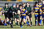 NELSON, NEW ZEALAND - JULY 6: Junior Rugby at Sport Park, Motueka. 6 July 2019 in Motueka, New Zealand. (Photo by Chris Symes/Shuttersport Limited)