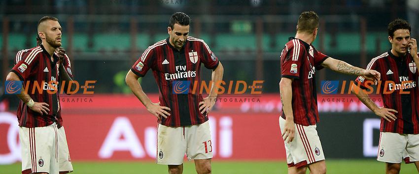 delusione Milan<br /> Milano 20-09-2014 Stadio Giuseppe Meazza - Football Calcio Serie A Milan - Juventus. Foto Giuseppe Celeste / Insidefoto