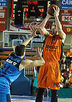 Montakit Fuenlabrada's  David Wear (l) and Alba Berlin's Bogdan Radosavljevic during Eurocup, Regular Season, Round 6 match. November 16, 2016. (ALTERPHOTOS/Acero)