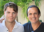 Jeff Branson and Christian LeBlanc at SoapFest's Celebrity Weekend - Art for Autism when the actors & kids make paintings for auction to benefit Autism on November 10, 2012 Marco Island, Florida. For info www.autism-society.org or www.autismspeaks.org. (Photo by Sue Coflin/Max Photos)